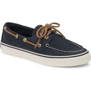 Sperry Top Sider Navy Blue Bahama Boat Shoes